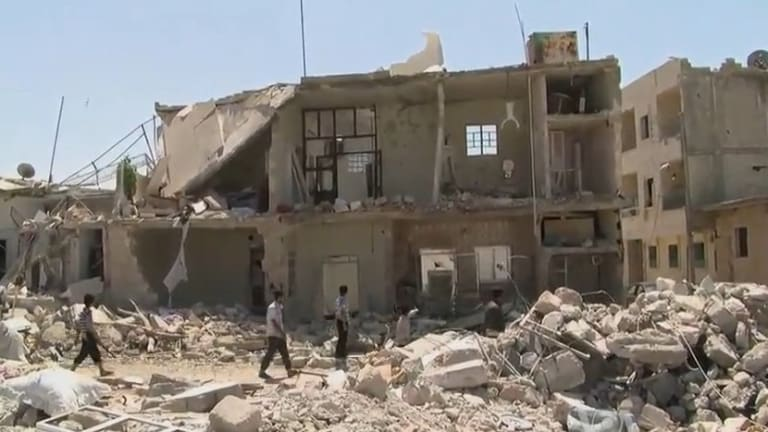 Defense Official Says Russia 'Complicit' in Syrian Deaths