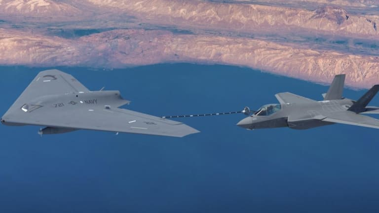 This Stealth Drone Could Make Carrier-Based F-35s Far More Lethal
