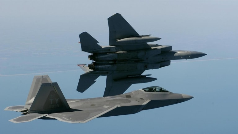 Air Force to Fly F-15s, F-22s & F-35s Controlling Attack Drones From the Air