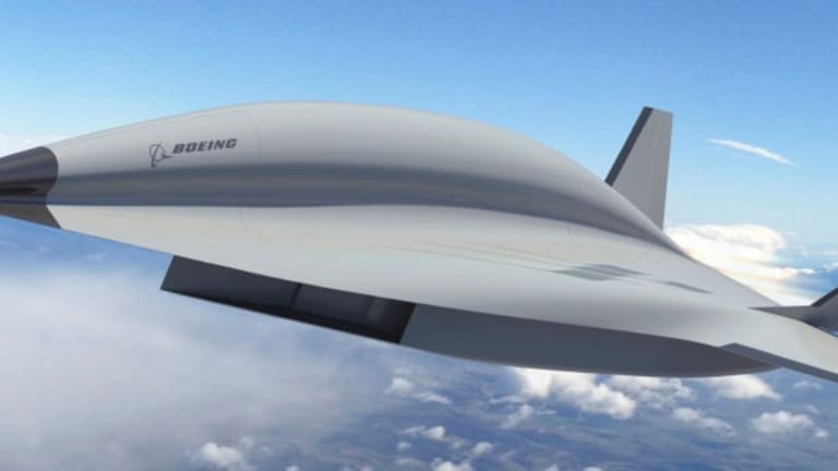 Boeing's Working on a Mach-5 Spy Plane