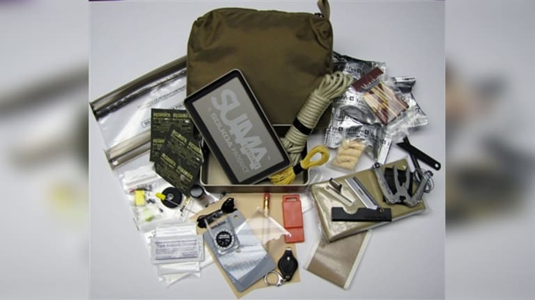 See What Navy SEALs Carry in Tiny Survival Kit