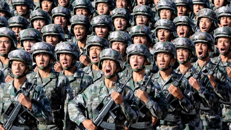 WATCH: China's Military Just Released a New Video Showing Off Its Weapons