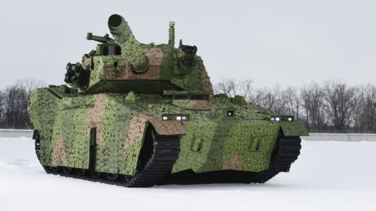 "Army Plans Prototype New ""Light Tank"" Mobile Protected Firepower-2020"