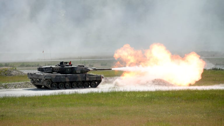 Could Ukraine's T-84 Tank Take on the World's Best in a Fight?