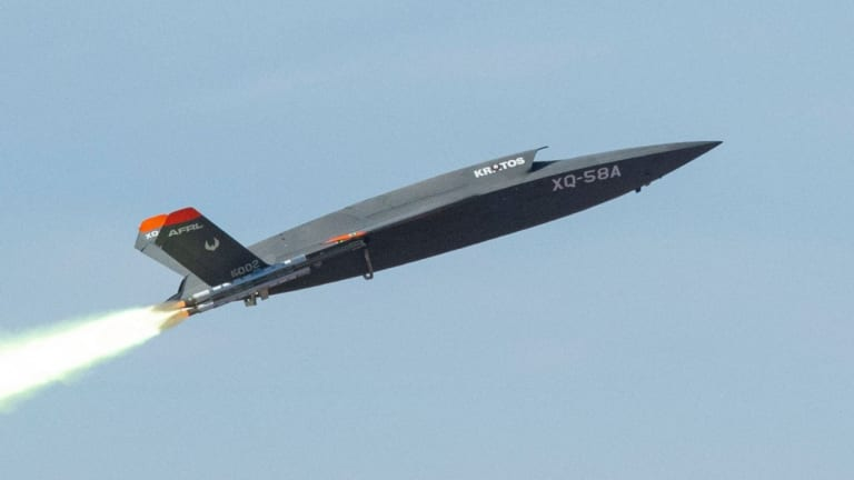 Milestone Reached: XQ-58A Valkyrie Drone Launches a Mini-Drone