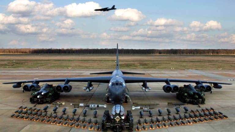Air Force B-52 Gets New Internal Weapons Bay