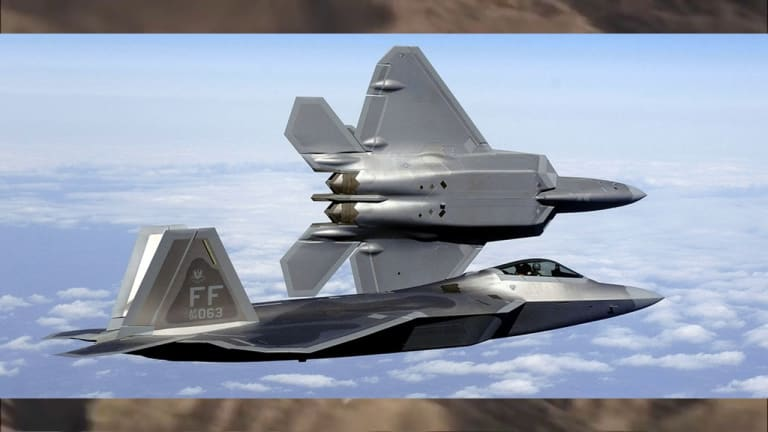 F-22 Video Report - Air Force Strategy Accelerates F-22 Weapons & Tech