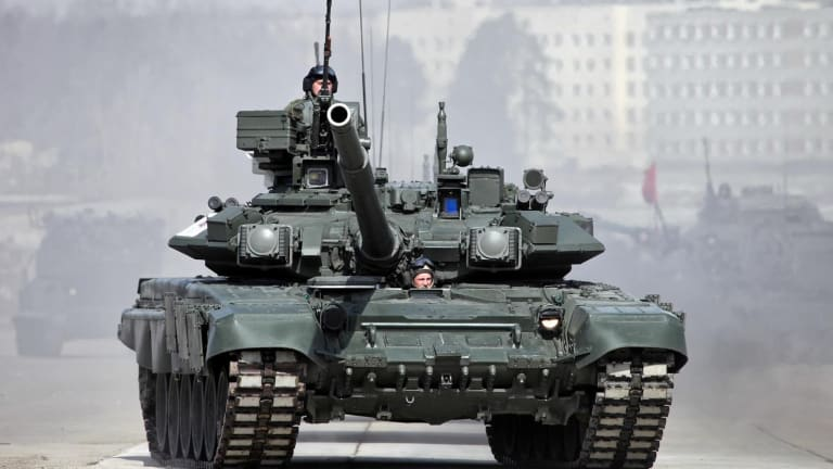 Shoot Out: Russia's Deadly T-90 Tank vs. America's TOW Missile - Who Wins?