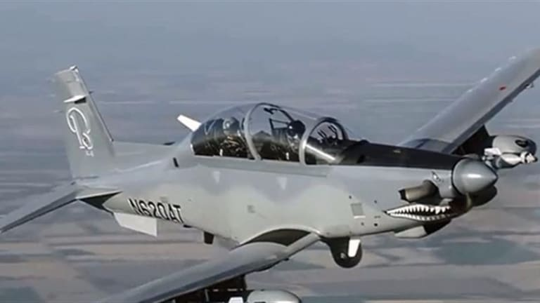 Air Force Preps New Light-Attack Plane for Combat