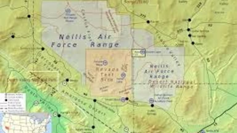 Inside Area 51: Land of Top Secret Stealth Fighters and 'Black Projects'