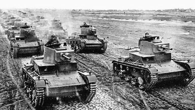 The Origins of Nazi Blitzkrieg - The Strategy Behind the Attack Tactics