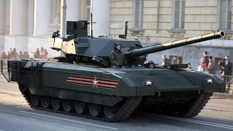 Russia's T-14 Armata Tank May Fire Hypersonic Missiles