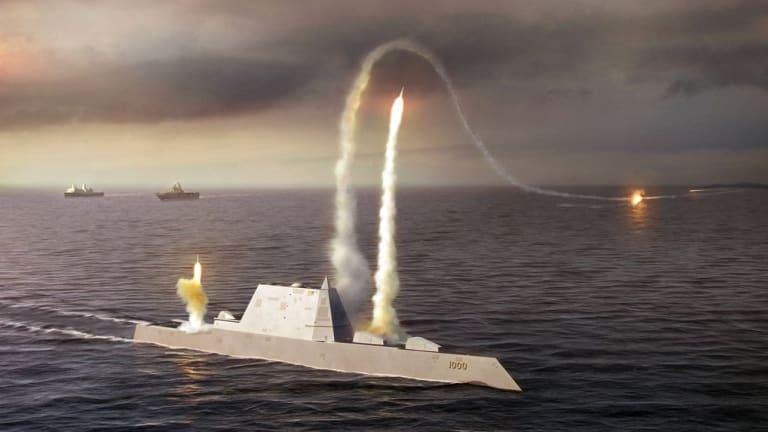 Zumwalt: Navy Begins Weapons&Tech Activation