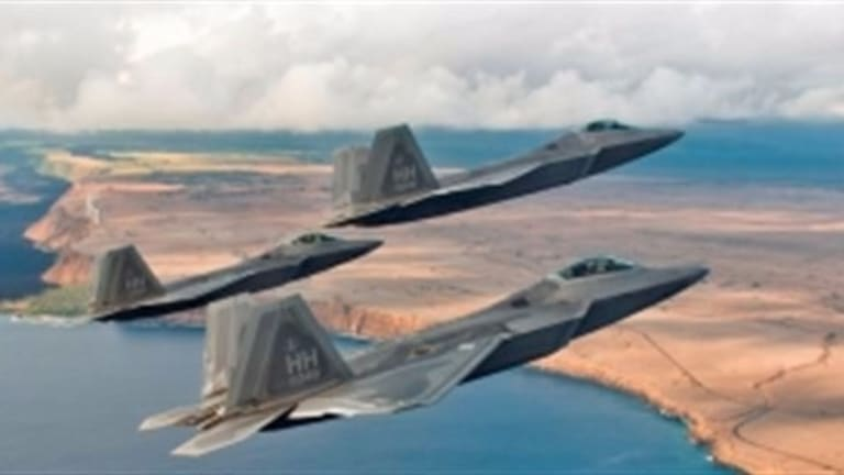 Air Force Sustains & Improves F-22 Stealth Coating