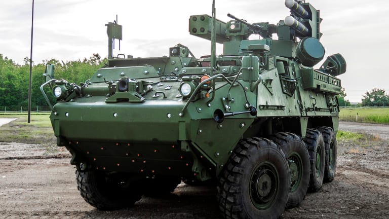 General Dynamics Unveils New Missile-Armed Stryker