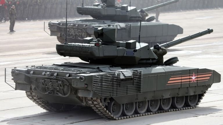 Armata vs. Abrams: Who Would Win If Russia and America's Best Tanks Battled?