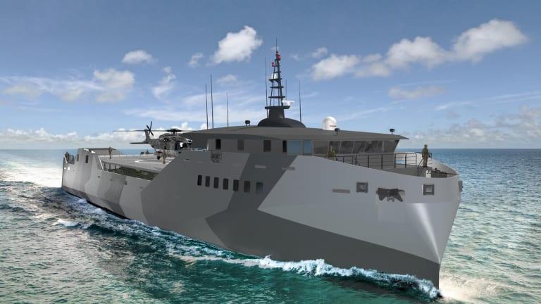 Light Amphibious Warships to Propel U.S into New Era of Winning Wars