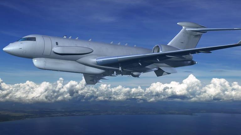 Raytheon & Bombardier Build New Spy Plane for Korea & U.S. Allies