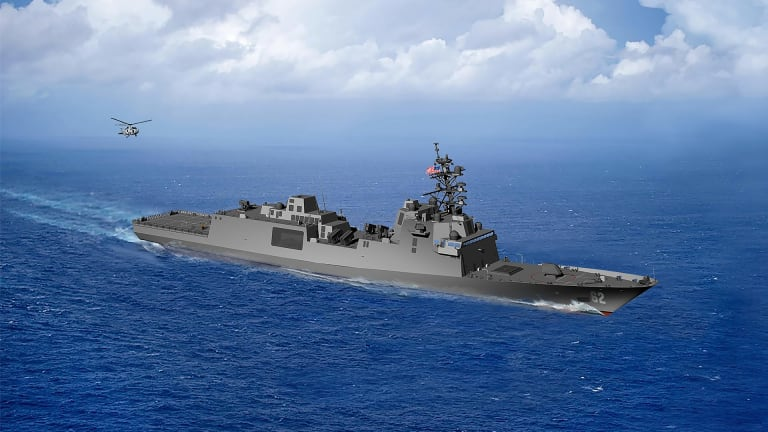 Multiple Constellation-class Guided Missile Frigate Ships Get Stamped for Rapid Production