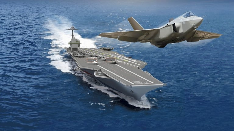 U.S. Navy Electromagnetic Aircraft Launch System (EMALS) Surges. 8,000 Take-Offs