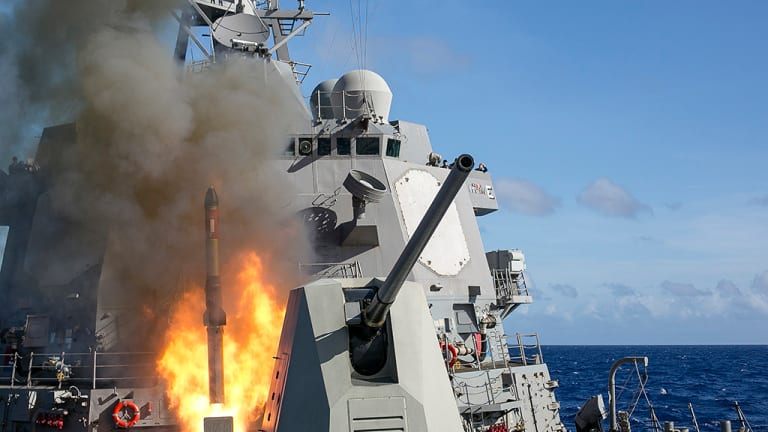 Navy Strategy Details War Plan to Stop Russia & China