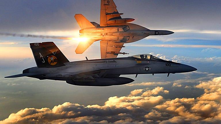F/A-18 Heads to Boneyard