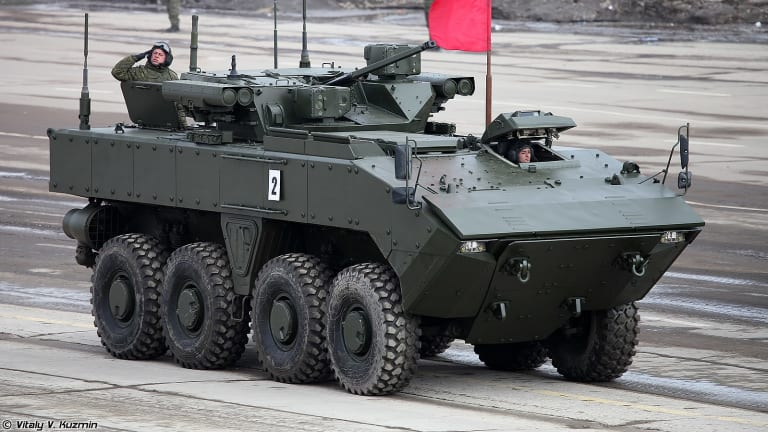 Is Russia Designing Armored Infantry Vehicles to Outgun the U.S.?