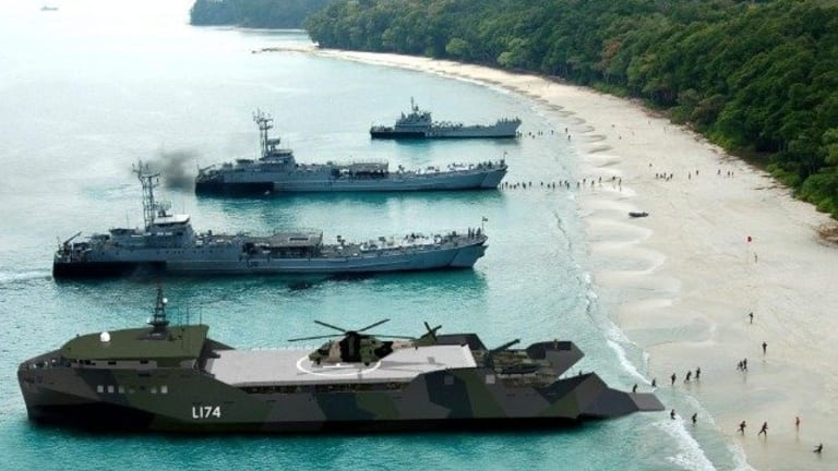 """Design Contracts Awarded for """"Island-Hopping"""" Light Amphibious Warships"""