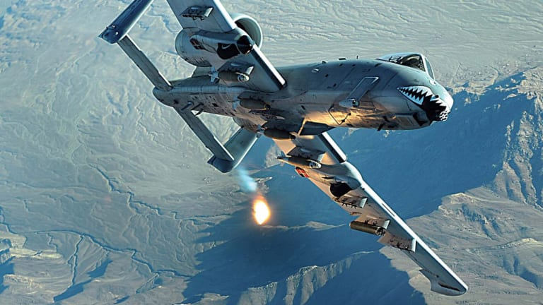 A-10 Lives to Fight Another Day - U.S. Air Force Wants to Keep 239 Warthogs