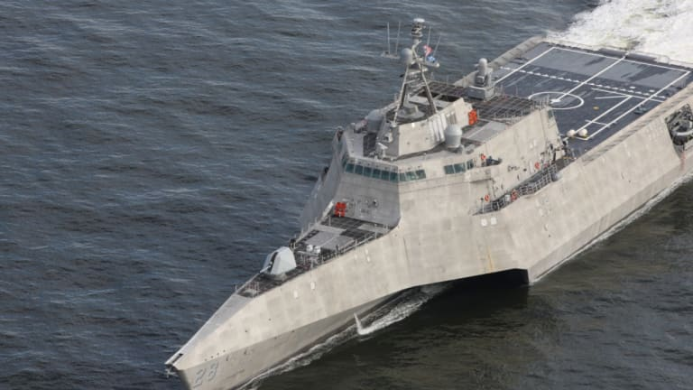 """U.S. Navy Littoral Combat Ship (LCS) Armed to """"OutGun"""" Russian Corvettes"""