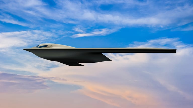 New Air Force B-21 Image Shows Stealthiest Bomber of All Time