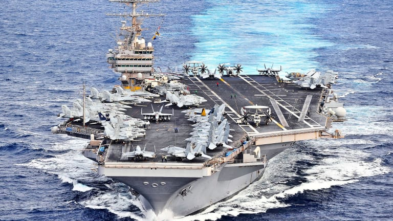 "U.S. Navy Preps For Massive ""Cyber War"" at Sea"