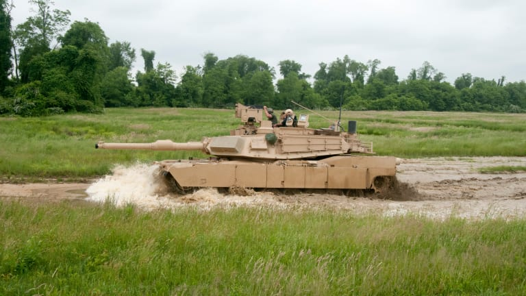 U.S. Army Abrams Tank & Future Robot Tanks Could Fight Together for Decades
