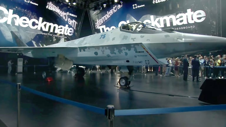 Russia Unveils Checkmate 5th-Gen Stealth Fighter to Rival U.S. F-35