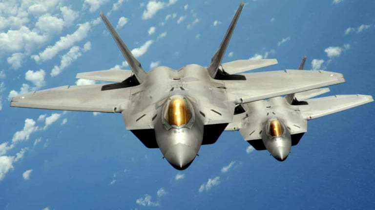 U.S. Air Force to Replace F-22s with 6th-Gen Stealthy Fighter Jets