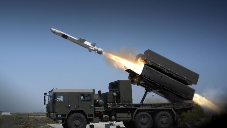 """Marine Corps Fires New Land-Launched Anti-Ship Missile Variant for """"Island Hopping"""" Amphibious War"""
