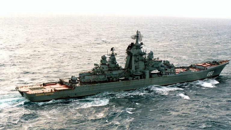 Russia Arms its Battle Cruisers with 60 Hypersonic Missiles