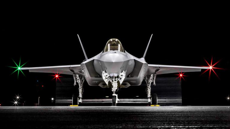F-35, F-22 & Reaper Drone Coordinate Breakthrough Attack Operations