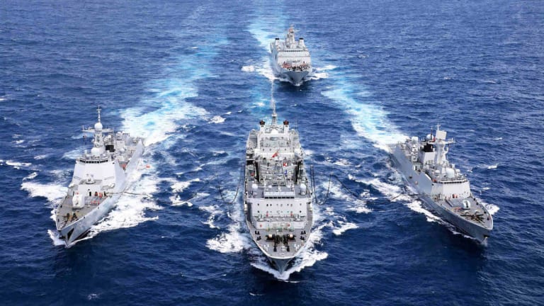"""New Navy """"Sea Control"""" Strategy Aims to Stop China"""