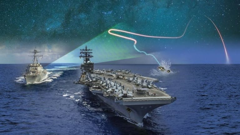 """Navy """"Project Overmatch"""" Connects Ships, Drones, Missiles & Sensors to Attack in Seconds"""