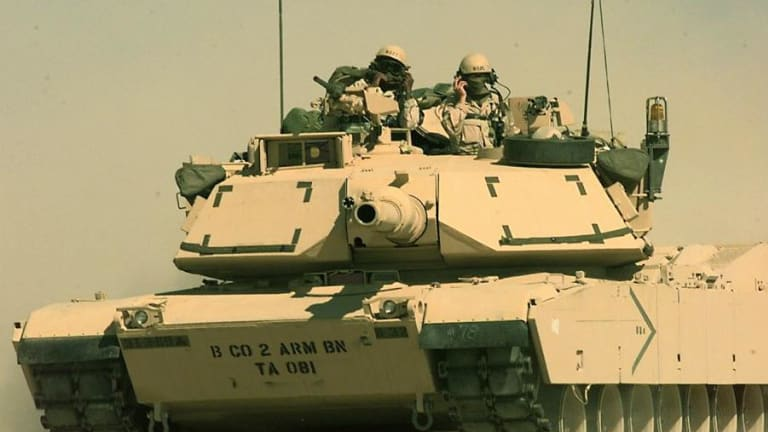 U.S. Army Abrams Tank and New Robot Tank May Fight Together