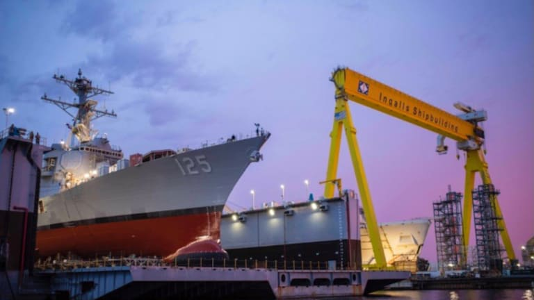 The U.S. Navy has 20 New Destroyers Under Construction