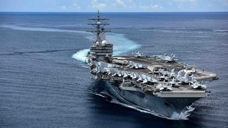 Navy Sends Carrier Firepower to South China Sea for Freedom of Navigation Operations