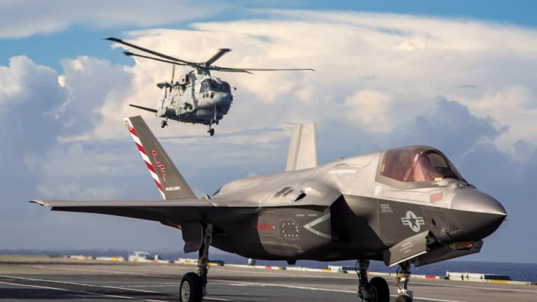 F-35Bs Massively Scale Amphibious Attack Potency: Successful U.S. & British Sea Exchange