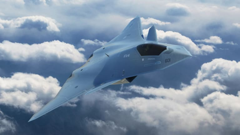 """Sixth-Gen Fighters: A """"Data Center in the Sky"""""""