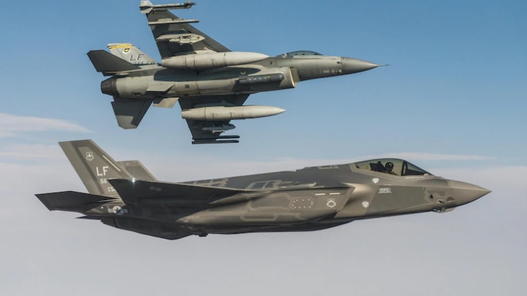 F-35s vs. F-16s: The Stealthy Jet with Advanced Sensors and Weapons Wins