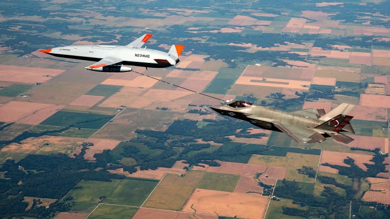 Successful F-35C & MQ-25 Air Refueling has Massive Implications for Naval Warfare