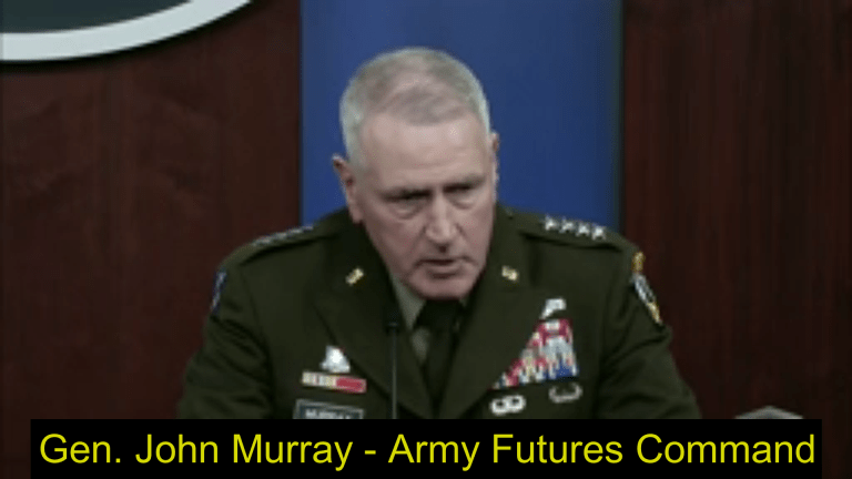 """Video: Army 4-Star Details Robotic Attacks to """"Breach Complex Enemy Object"""""""
