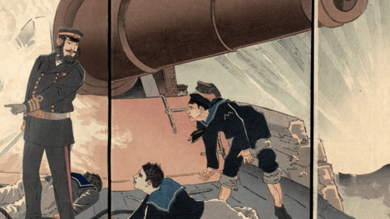 Eating Too Much Rice Almost Sank the Japanese Navy