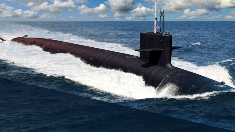 """""""First-cut-of-Steel"""" -Begins New Era in Nuclear Weapons, Submarine Warfare"""